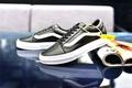 Vans Original Skate Shoes White Black Discounted WOMEN Old Skool 36