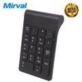 Mirval NK4 Mini USB 18 Keys Wireless 2.4G Number Pad Numeric Keypad Keyboard For PC Laptop with USB