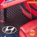 QJ พรมปูพื้นรถยนต์เข้ารูป5D ยี่ห้อรถHyundai รุ่นH1 VIP/MPV ปี2011-2018