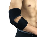 Adjustment Arm Sleeve Bandage Elbow Support Spor Badmintonbreathable Elbow Support Protector Pad Guard Elbow Brace - Black
