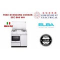 ELBA EEC 866 Free standing Cooker Electric (White)