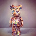 全新Ryan Maginness Bearbrick 藝術家Ryan Mcginness Bearbrick 積木熊