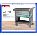 【威利小站】樹德SHUTER 工作桌 資料櫃 抽屜款工具車 手推車 工具箱 CTCH-5086/ CT-H3