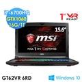 MSI 微星 GT62VR 6RD-054TW 15.6吋 i7-6700HQ GTX1060 WIN10 電競筆電