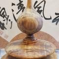 印尼國寶血龍木,重油透光。飛碟聚寶盆