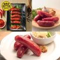 【黑橋牌】一斤香腸真空綜合包3件組-原味+蒜味+辣味(一甲子堅持用心的香腸)