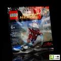 【樂高 復仇者聯盟系列】全新品 LEGO 5002946 鋼鐵人 銀色百夫長 空氣包 人偶【一樂電玩】