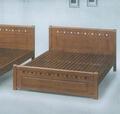 【石川家居】DA-12 雙人5尺實木床架 另有單人3.5尺 雙人加大6尺 卡榫式 民宿可用 耐用 全實木