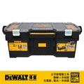 """美國 得偉 DEWALT 大提把系列 24""""透明收納專業工具箱 DWST24075"""