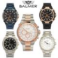 BALMER 賓馬 特殊鋼索系列真三眼手錶(7977)