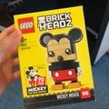 Brickheadz 41624 41625 米奇 米妮 樂高 90週年 現貨代購