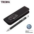 德國TROIKA工程筆PEC77/BS工具筆鉛筆盒麵包車鉛筆盒