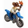 樂高 Lego 侏羅紀系列 JURASSIC T. REX TRACKER 75918-單售 VET+摩托車
