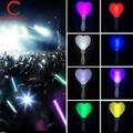 OIKEA Creative LED เรืองแสงแท่งเรืองแสงแท่งไฟรูปหัวใจสีสัน