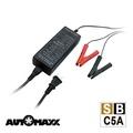 AUTOMAXX ★ SBC-5A 智慧型12V電池專用電瓶充電器 [具BSMI認證]