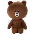【真愛日本】13091900001 LINE豆豆絨毛娃-熊大 LINE公仔 饅頭人 兔子 熊大 日本帶回