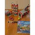LEGO 60110 CITY系列 消防局 二手 2手 下標前請詳閱商品說明