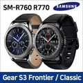 SAMSUNG Galaxy Gear S3 Used A-GRARD Frontier SM-R765 / Smart Watch with Wi-Fi