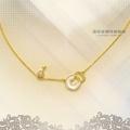 佳珍金鑽珠寶銀樓 GD0006-18229B198黃金小套鍊 純金項鍊 (44.5公分) 1.54錢