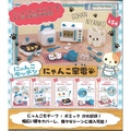 Eliy's Toy Shop🌸 【現貨】 EPOCH Capsule Toy 貓咪家電 轉蛋 扭蛋 1套5款