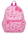 【真愛日本】16031500002 童用後背包L-蘋果棉花糖粉 KITTY 凱蒂貓 包包 後背包 兒童用 生活用品