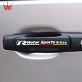 【SO】福斯VW R標誌 高爾夫6 cc速騰尚酷新朗逸邁騰改裝門拉手標誌貼紙 個性門把手汽車貼紙