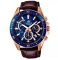 Casio Edifice | นาฬิกาข้อมือผู้ชาย สายหนัง รุ่น EFR-552GL-7AV