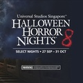 HHN8 USS Halloween Horror Nights 8 Ticket Universal Studio Singapore Eticket + meal voucher Etix