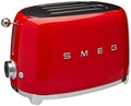 Smeg TSF01BLUS two pieces of toast toaster 7.72 X 12.09 X 7.601 inches black