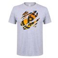 Bitcoin In Cryptography We Trust Men printed Tees Cotton