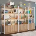 【愛尚家居】超市貨架展示架獎牌架美容柜子展示柜寵物店首飾柜臺展柜產品柜