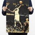 懷舊復古經典牛皮紙海報壁貼咖啡館裝飾畫仿舊掛畫●籃球NBA美國職籃系列- Tracy McGrady麥迪