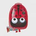 【kiddidoo】比利時童趣造型硬殼ABS後背包_瓢蟲