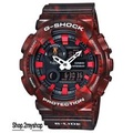 CASIO G SHOCK SPECIAL DARK RED COLOUR GAX-100MB-4A