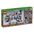 8月新品樂高我的世界系列21147巖底大冒險兒童玩具男孩子積木LEGO