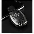 BENZ 賓士 T-CARBON 正碳纖維 鑰匙保護殼 (A180 A200 A250 A45 B180 B200)鑰匙