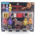 現貨有實拍玩具熊的五午夜後宮Five Nights at Freddy兒童積木手辦騎馬玩具關節可動人偶模型擺件手辦玩偶