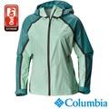 【Columbia哥倫比亞】鈦OD單件式防水外套-綠色 URR10480GR