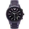 【現在幾點】Emporio Armani 阿瑪尼 三眼計時錶 AR1451