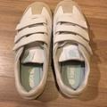 K.swiss 魔鬼氈白色布鞋 7.5號