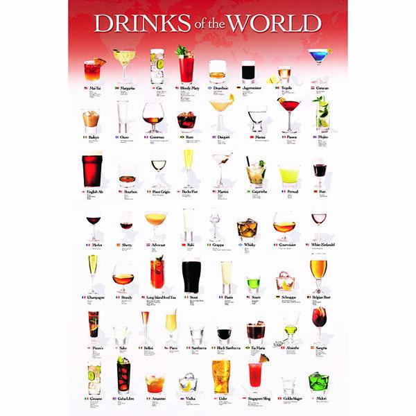 【P2 拼圖】世界調酒集拼圖1000片 100-278