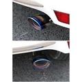 TOYOTA豐田 原車開模 yaris排氣管 vios排氣管 改裝部品 碳纖維 ABS電鍍烤藍  TRD