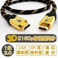 1米 2.0版 編織 HDMI 高速傳輸線