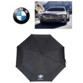 Benz+BMW<全自動三折疊雨傘>奔馳寶馬瑪莎拉蒂Maserati奧迪Audi各大名車專用汽車傘