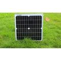 ㊕20W18V單晶太陽能電池板/太陽能電池組件/給12V蓄電池充電