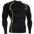 Hopeforth Men Compression Shirts Skin Tight Base Layer Fitness Sportswear Tshirts (Intl)