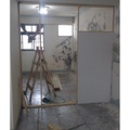 雙面6mm矽酸鈣版隔間牆施工