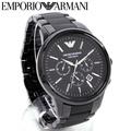 emporioarumani手錶人EMPORIO ARMANI CERAMICA黑色鐘表陶瓷器AR1451 MKcollection