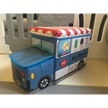現貨 二手出清 玩具收納 造型 玩具車 冰淇淋車 收納箱