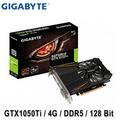 GIGABYTE 技嘉 GTX1050Ti  D5 4G 顯示卡